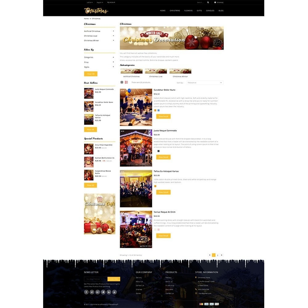 theme - Regali, Fiori & Feste - Christmas Store - 4