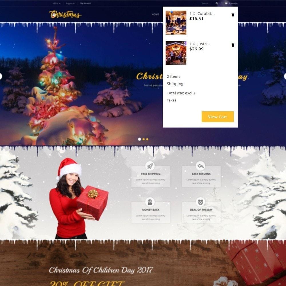 theme - Cadeaux, Fleurs et Fêtes - Christmas Store - 7