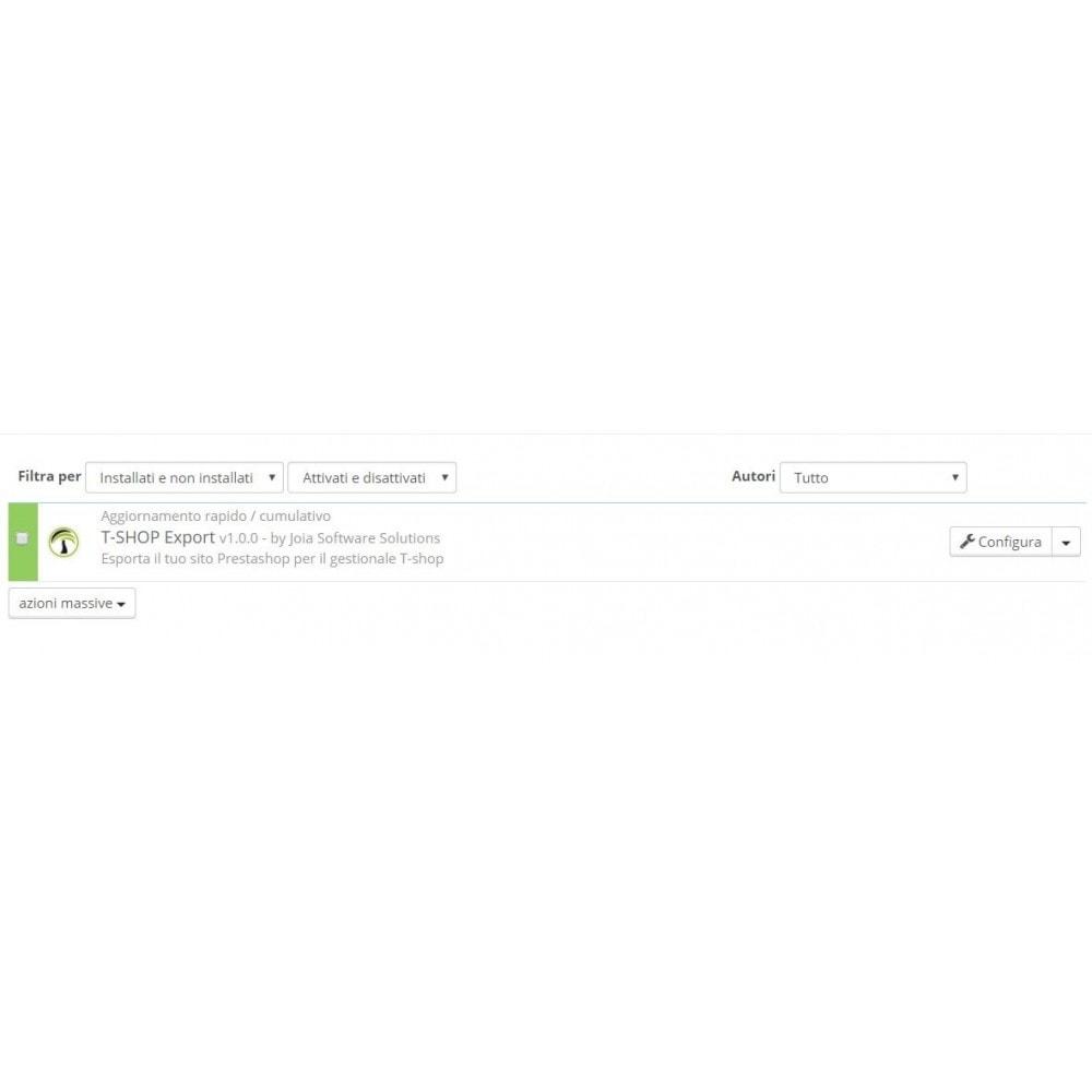 module - Data Migration & Backup - Esporta tutto il catalogo da PrestaShop a T-Shop - 3