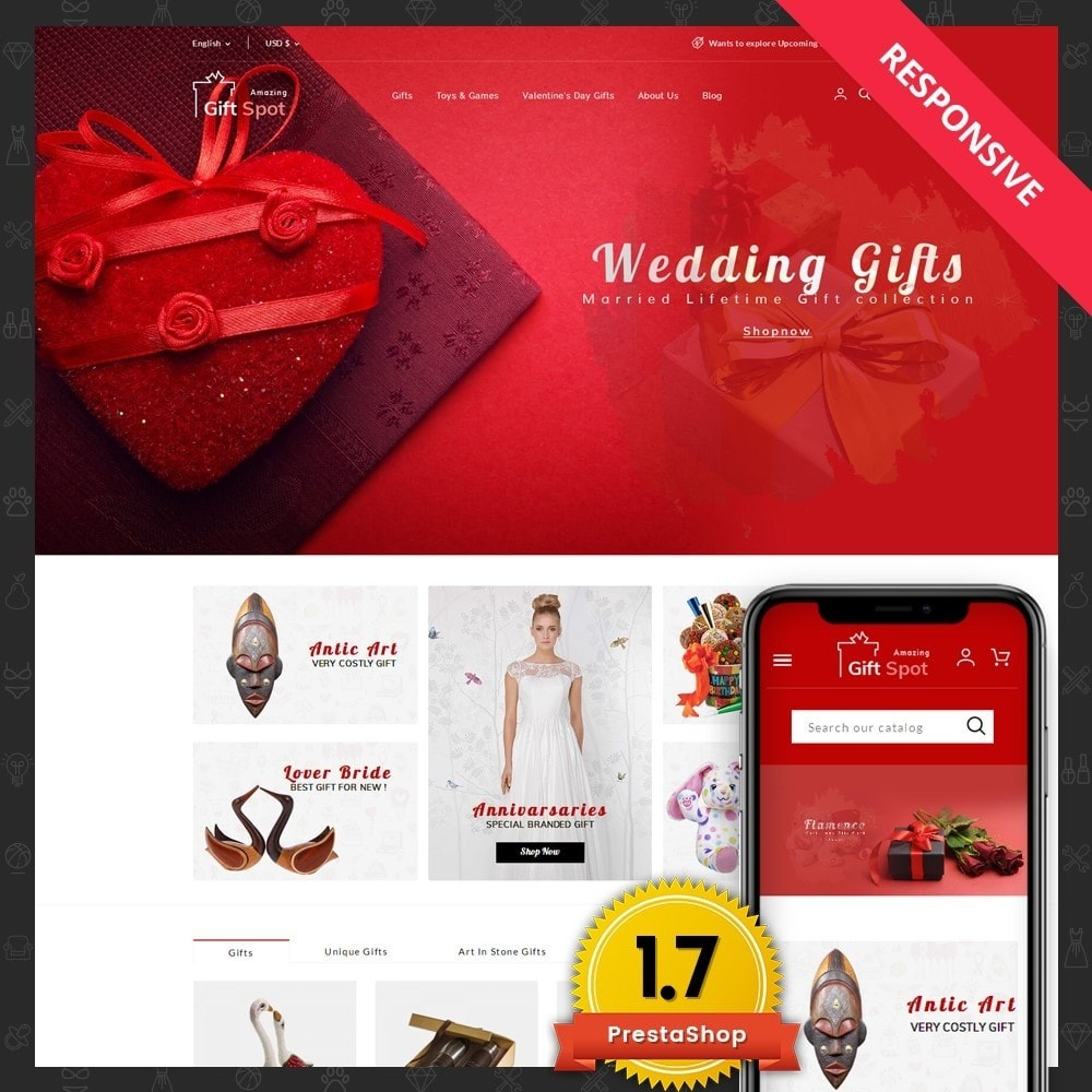theme - Gifts, Flowers & Celebrations - Gift Spot - 1