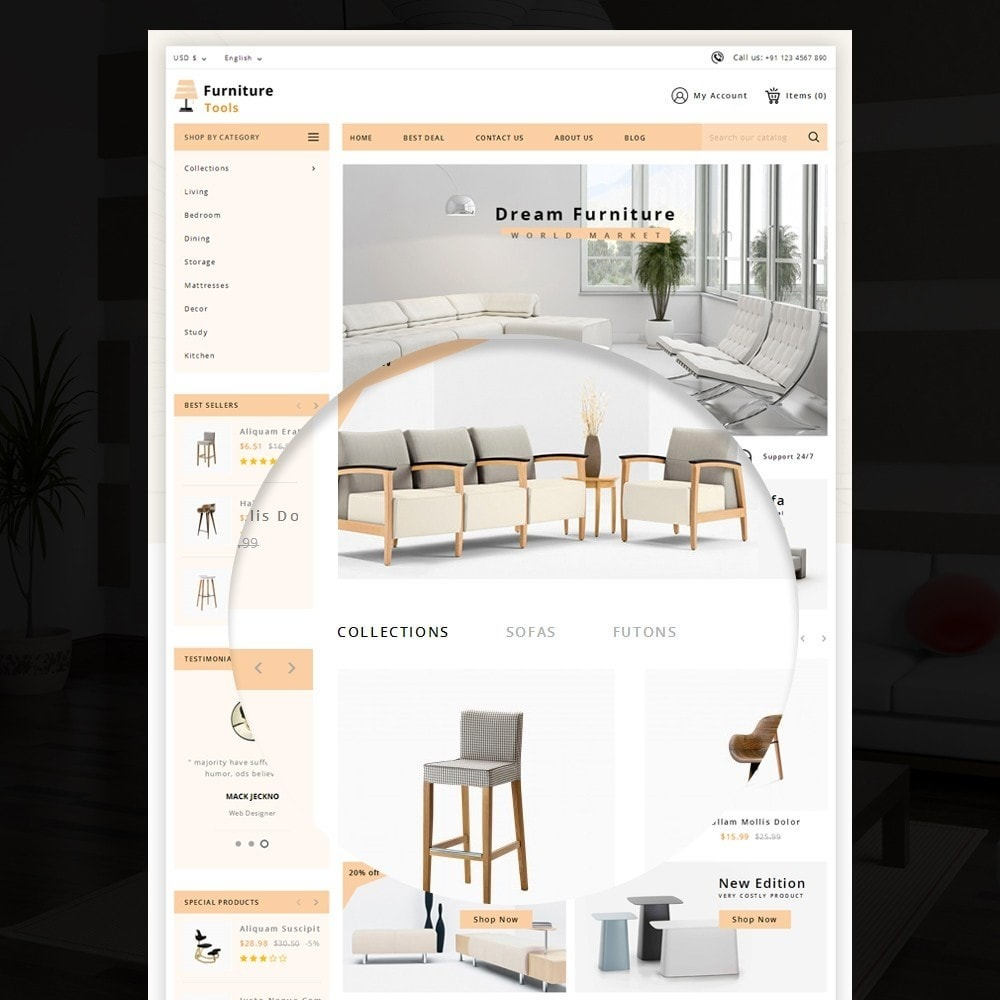 theme - Casa & Jardins - Furniture Tool - 7
