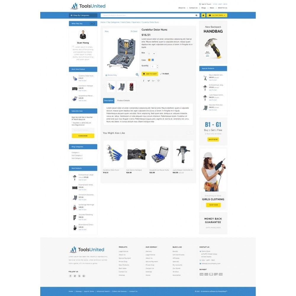 theme - Carros & Motos - Tools United Store - 5