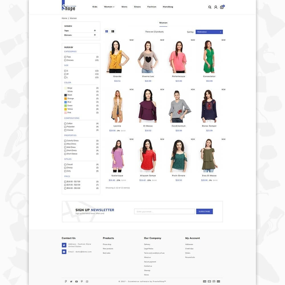 theme - Мода и обувь - BigShope - Big Fashion Store - 3