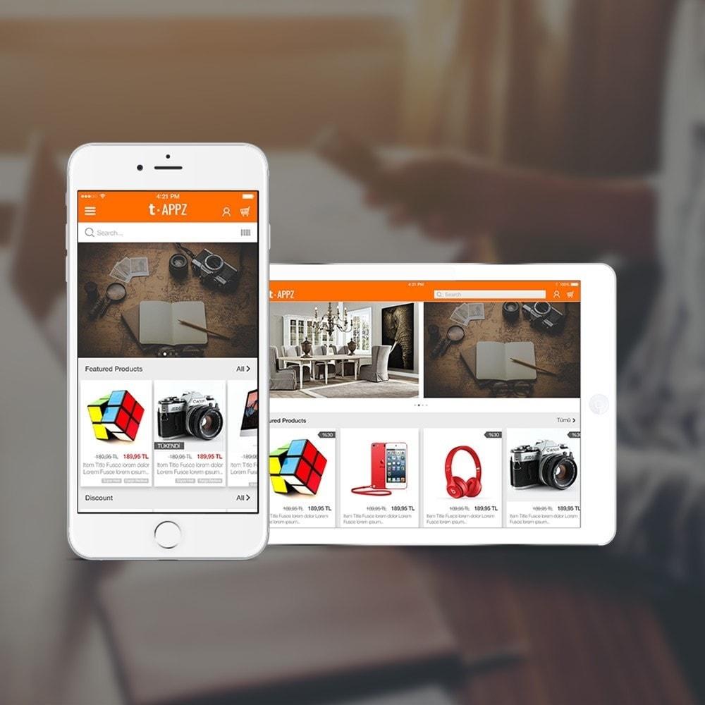module - Mobile - t-APPZ Mobile App Creator - 1