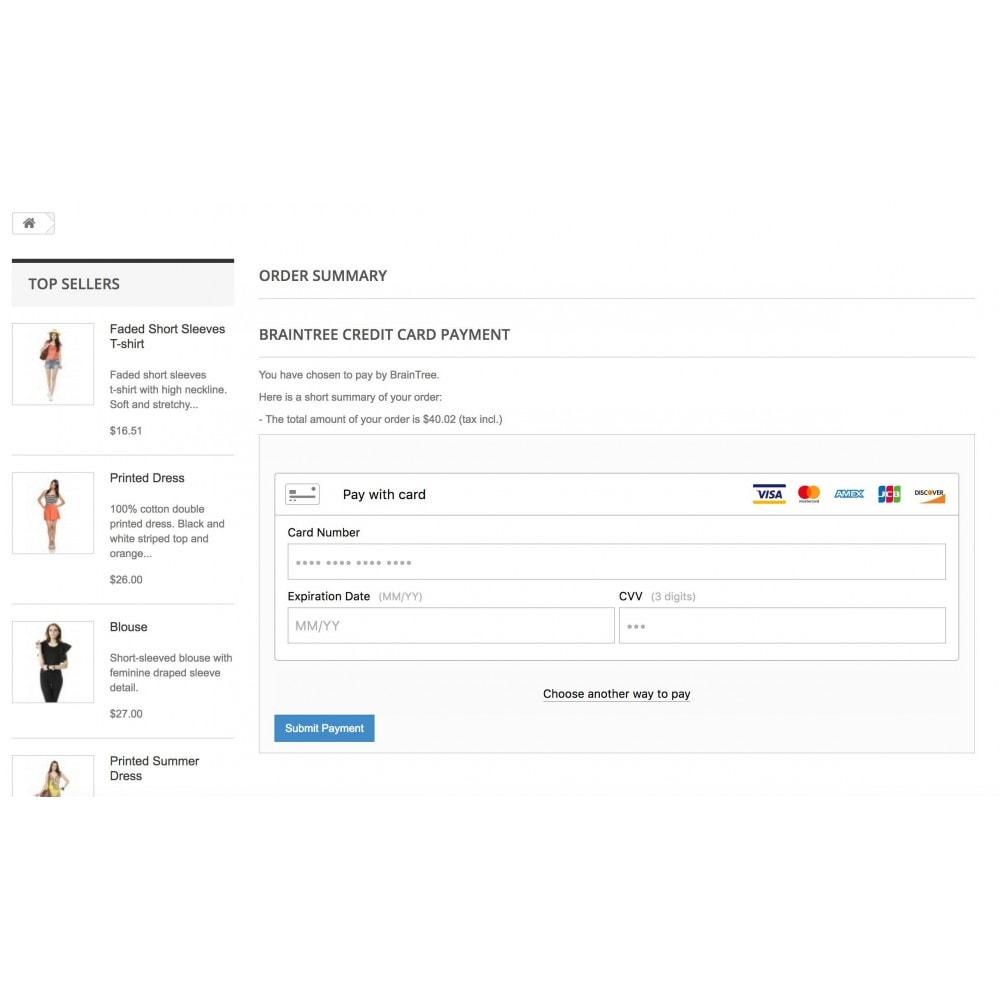 module - Creditcardbetaling of Walletbetaling - BrainTree Payment Gateway - 10