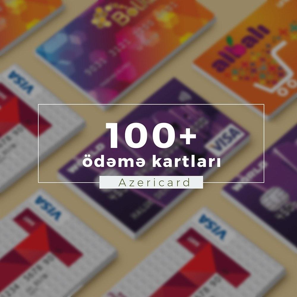 module - Оплата банковской картой или с помощью электронного кошелька - AzeriCard Payment Gateway | AzeriCard ONLINE ÖDƏMƏ - 3