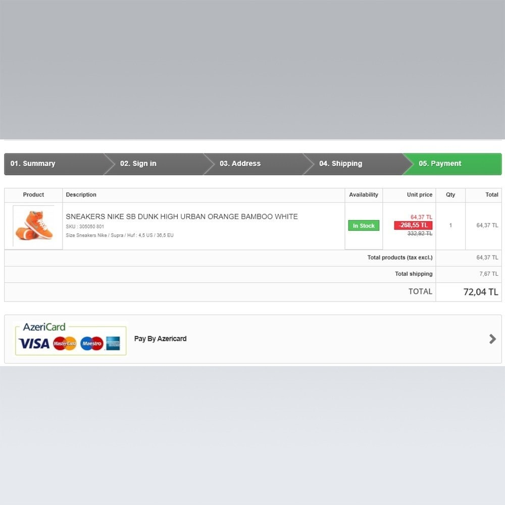 module - Paiement par Carte ou Wallet - AzeriCard Payment Gateway | AzeriCard ONLINE ÖDƏMƏ - 6