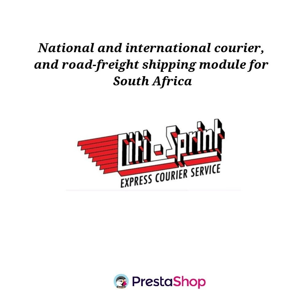 module - Shipping Carriers - Citi-Sprint Shipping Module - 1