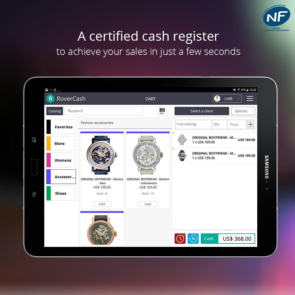 module - Kassensystem (POS) - RoverCash, NF525 Cash Register - 1