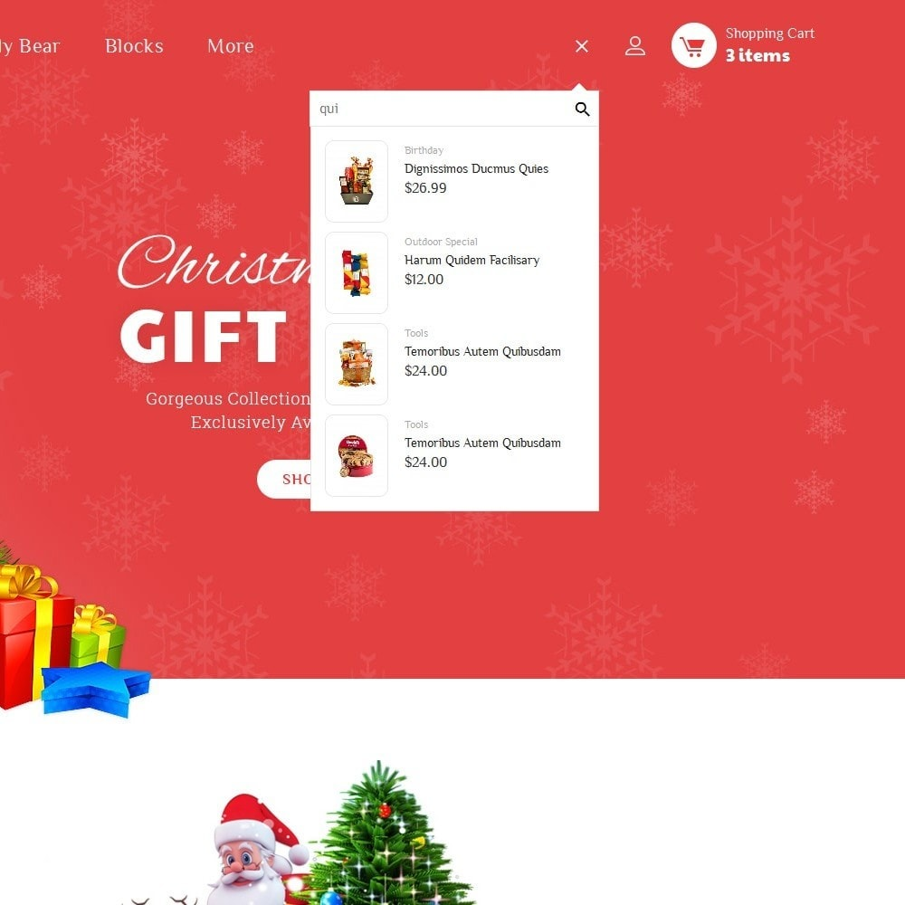 theme - Gifts, Flowers & Celebrations - Santa Gift Store - 9