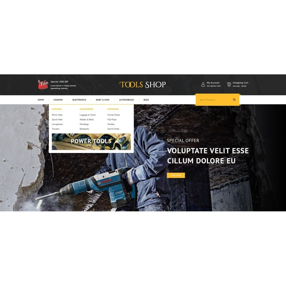 theme - Auto's & Motoren - Tools Shop - 6