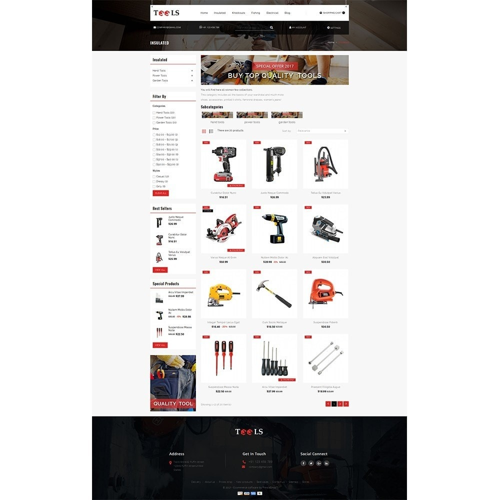 theme - Elettronica & High Tech - Tools Store - 3