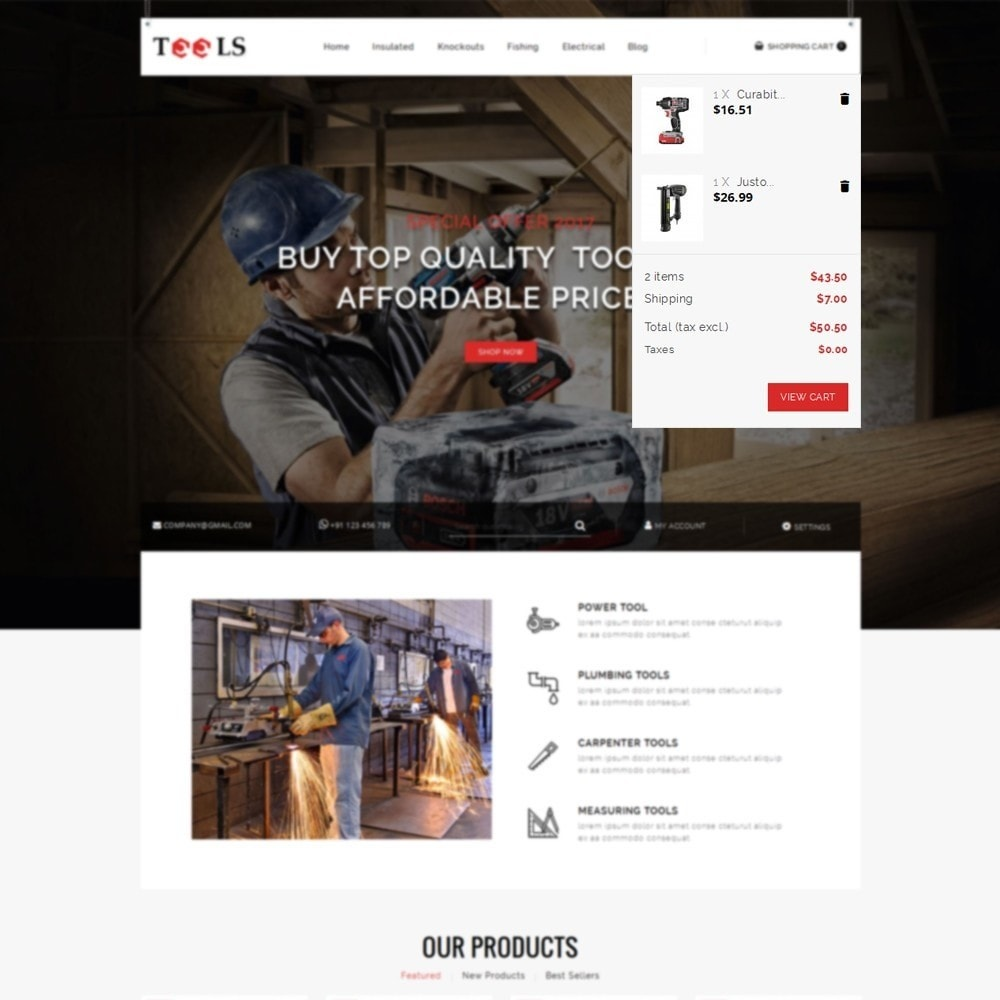 theme - Elettronica & High Tech - Tools Store - 7