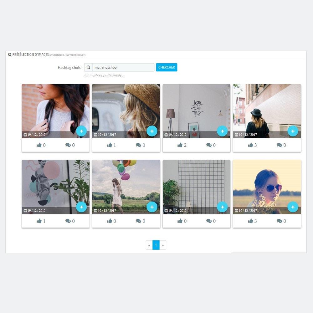module - Produits sur Facebook & réseaux sociaux - MySocialFeed - Taguez vos produits - 5