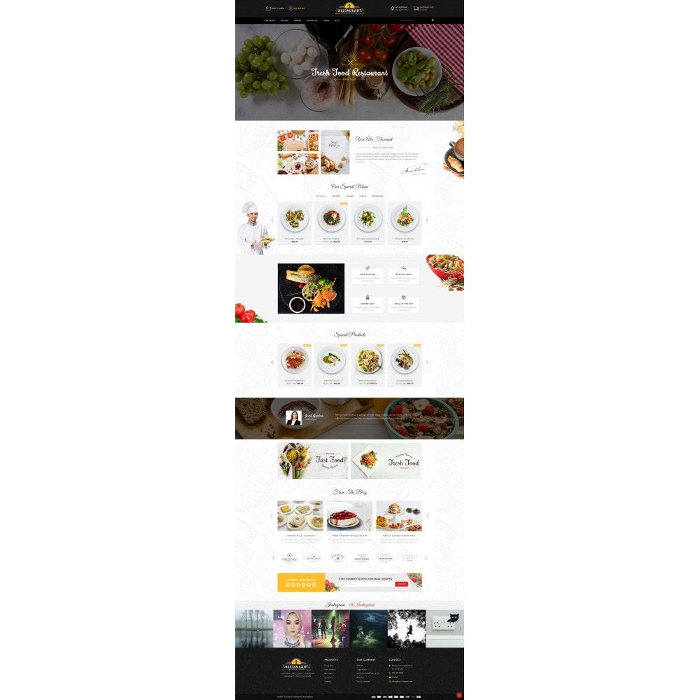 theme - Lebensmittel & Restaurants - Restaurant Food Store - 2