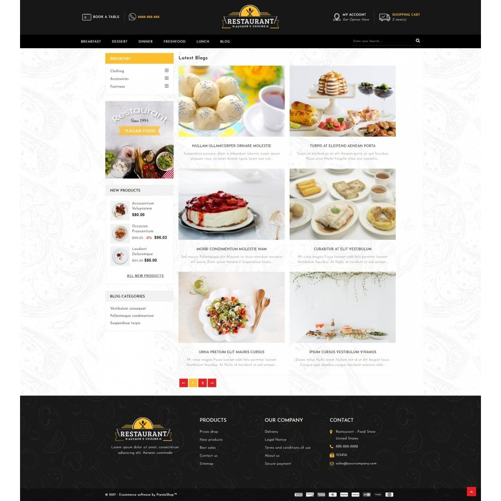theme - Alimentation & Restauration - Restaurant Food Store - 9