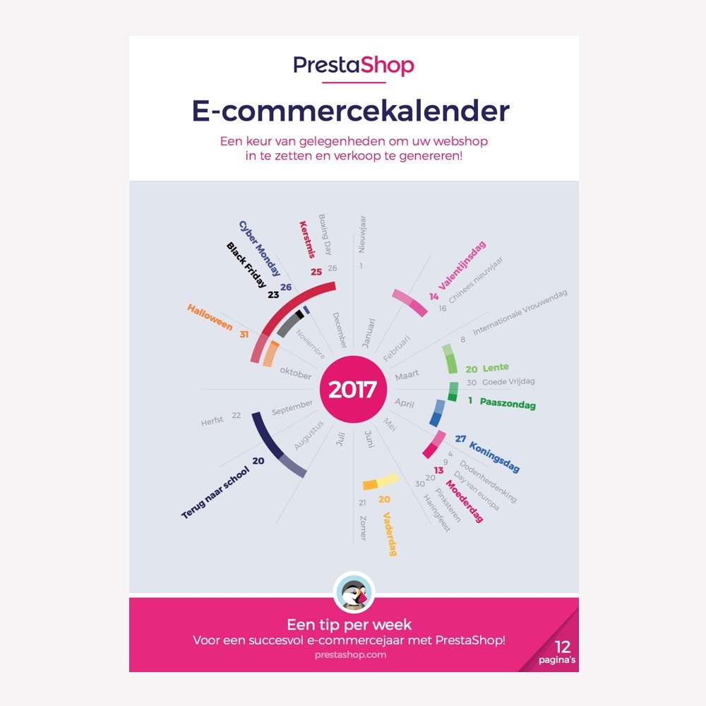 other - Calendario eCommerce - Netherlands 2018 eCommerce Calendar - 1