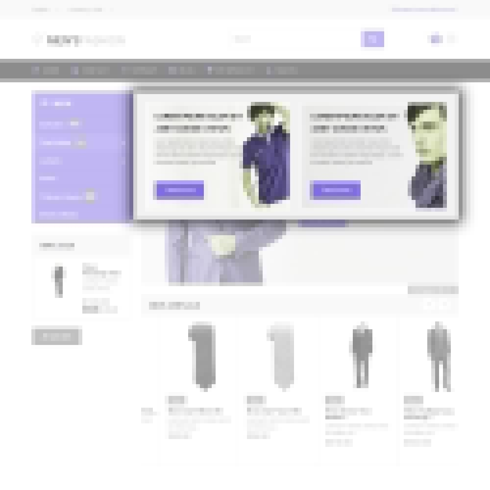 theme - Fashion & Shoes - Men's Fashion - Fashion Store Template - 5