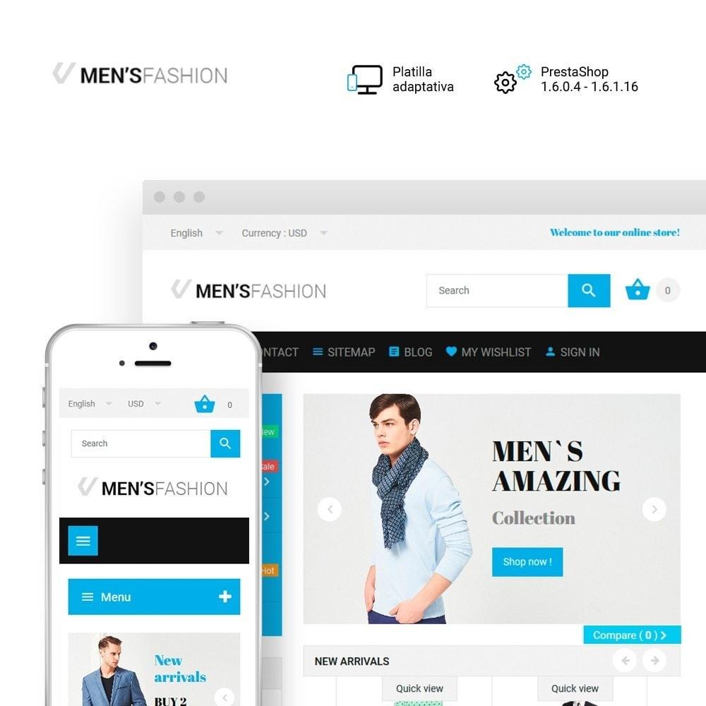 theme - Moda y Calzado - Men's Fashion - para Sitio de Tienda de Ropa - 1
