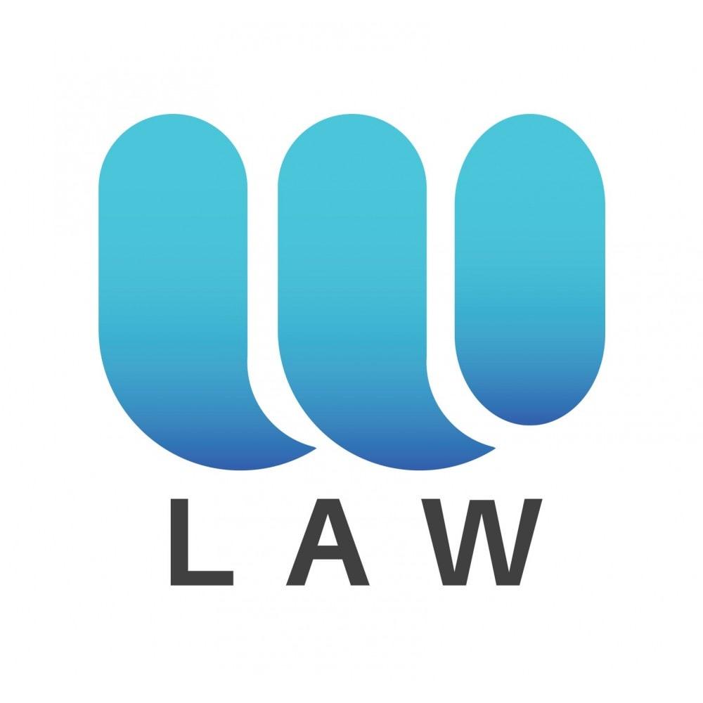 module - Legal - GDPR (General Data Protection Regulation) by Webubi - 1