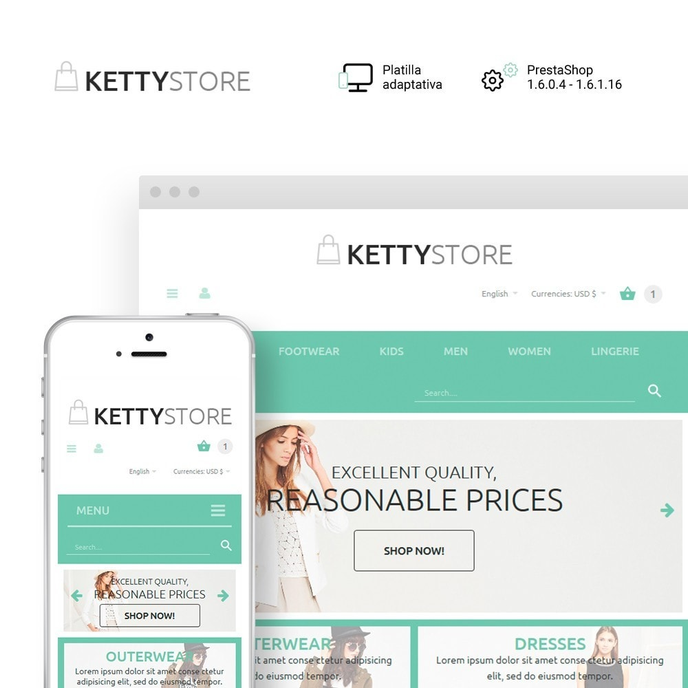 theme - Moda y Calzado - KettyStore - 1
