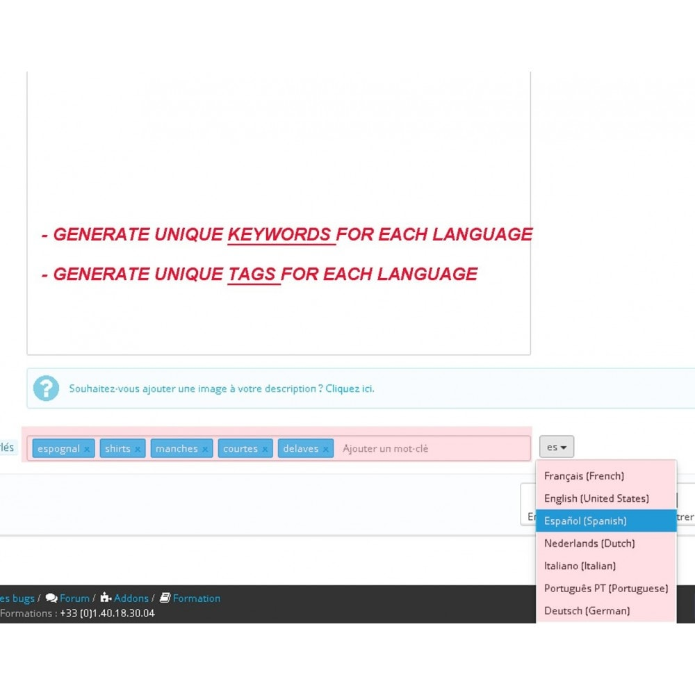 module - SEO (Referenciamento natural) - AUTO KEYWORDS GENERATOR - 6