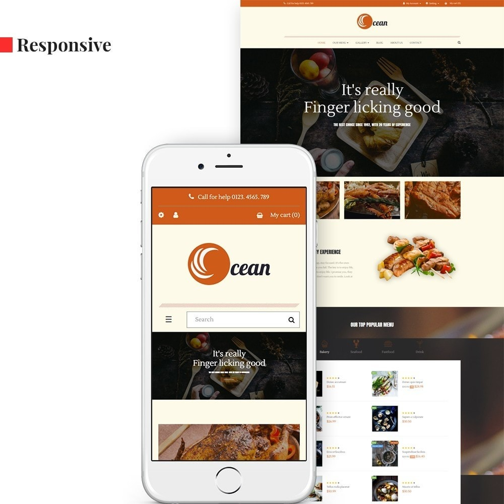 theme - Lebensmittel & Restaurants - Leo Ocean - 1