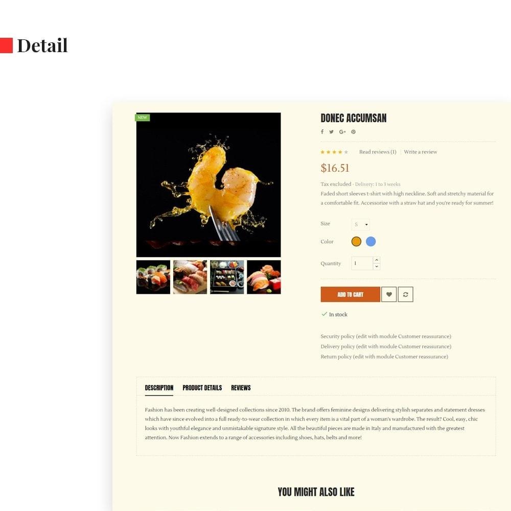 theme - Alimentation & Restauration - Leo Ocean - 7