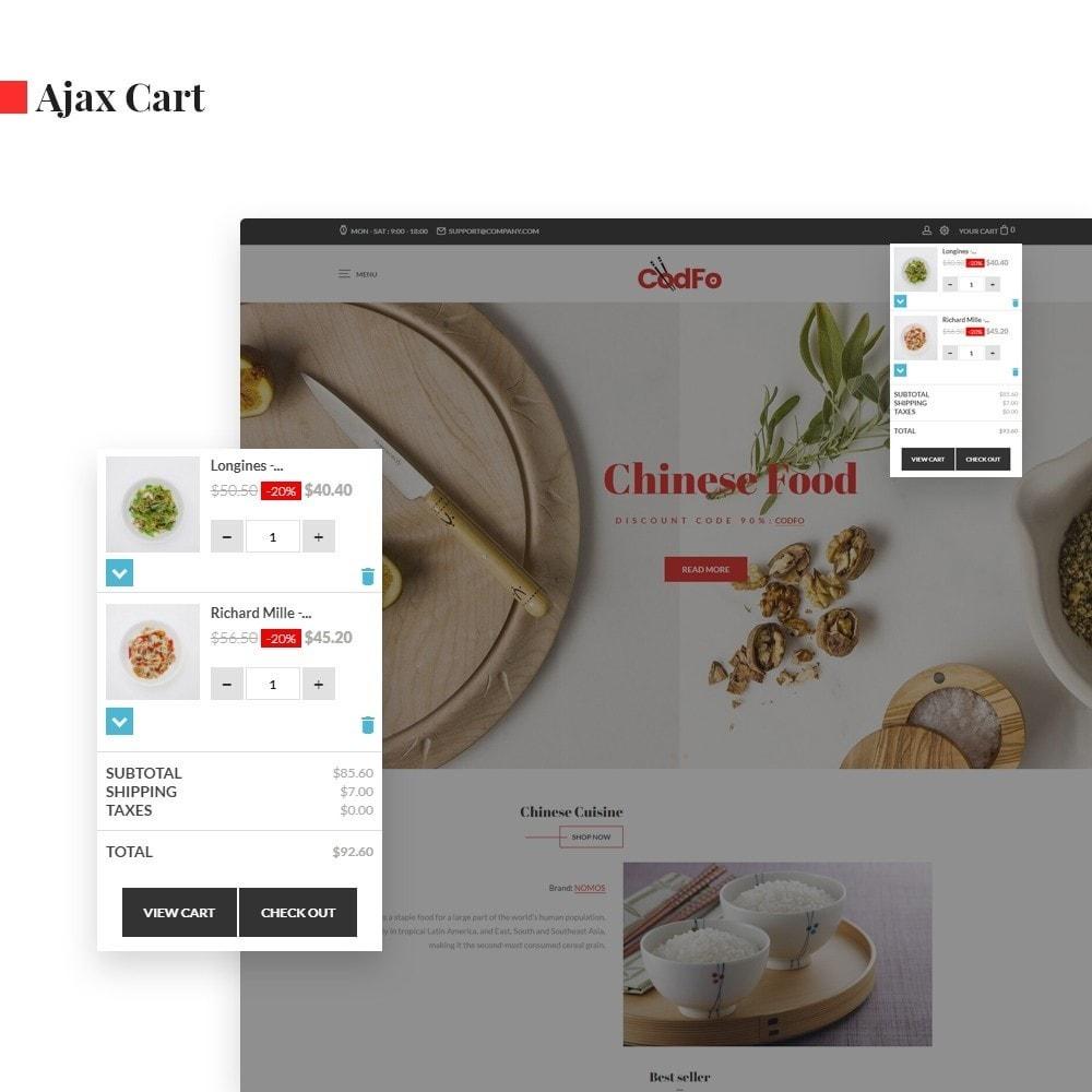 theme - Lebensmittel & Restaurants - Ap Codfo - 2