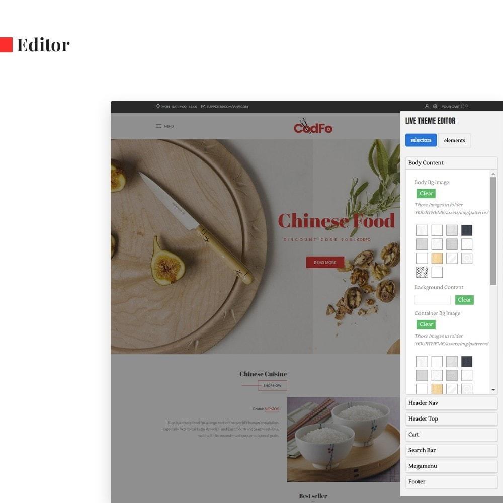 theme - Lebensmittel & Restaurants - Ap Codfo - 3