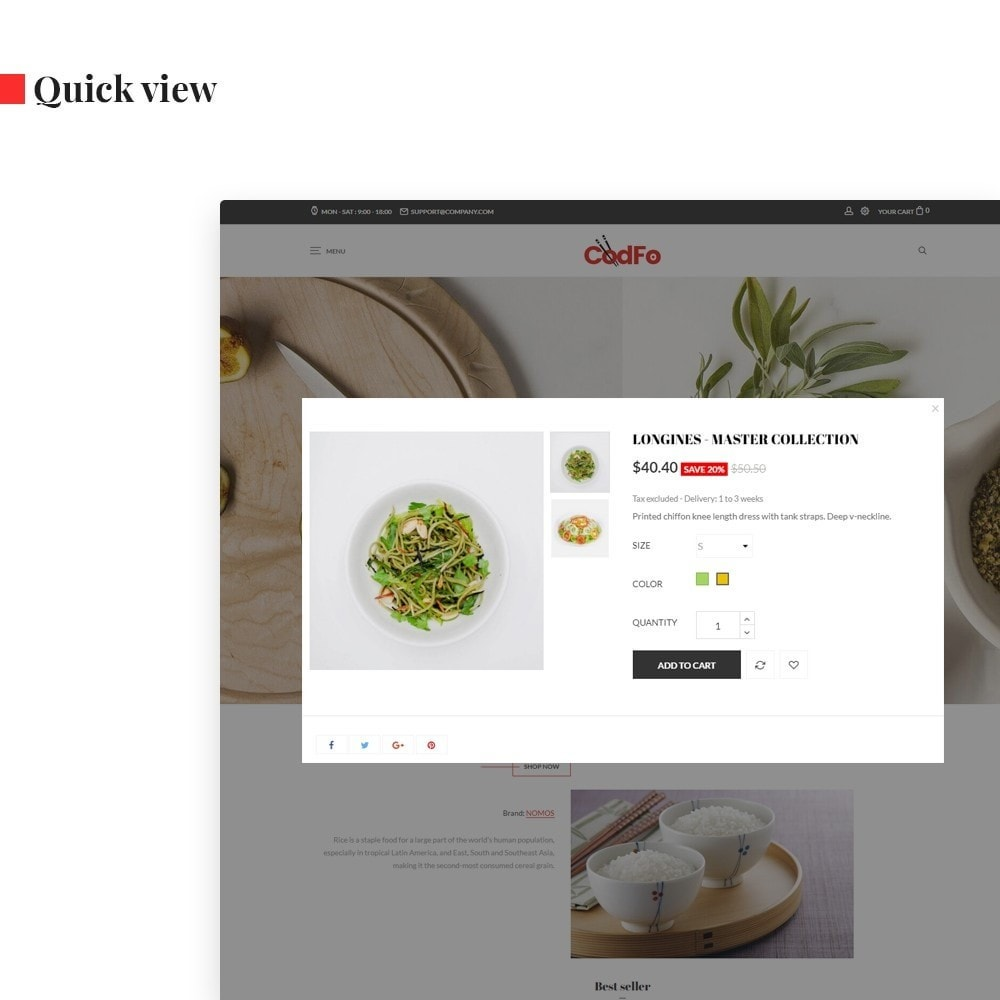 theme - Eten & Restaurant - Ap Codfo - 6