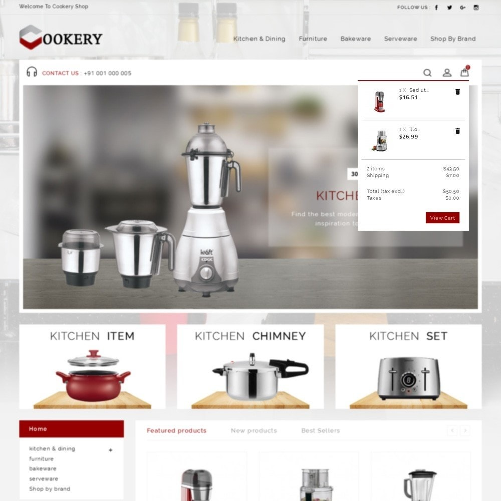 theme - Home & Garden - Cookery Store - 8