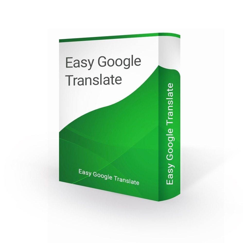 module - Internacional & Localização - Google Translate 105 Languages & Google Analytics - 1