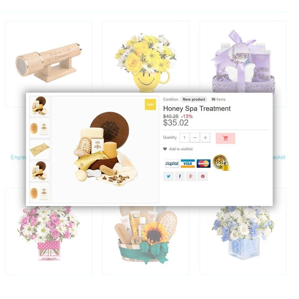 theme - Cadeaux, Fleurs et Fêtes - Gifts - 5