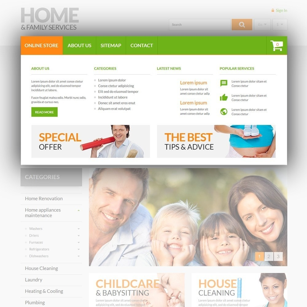 theme - Dom & Ogród - Home & Family Services - 5