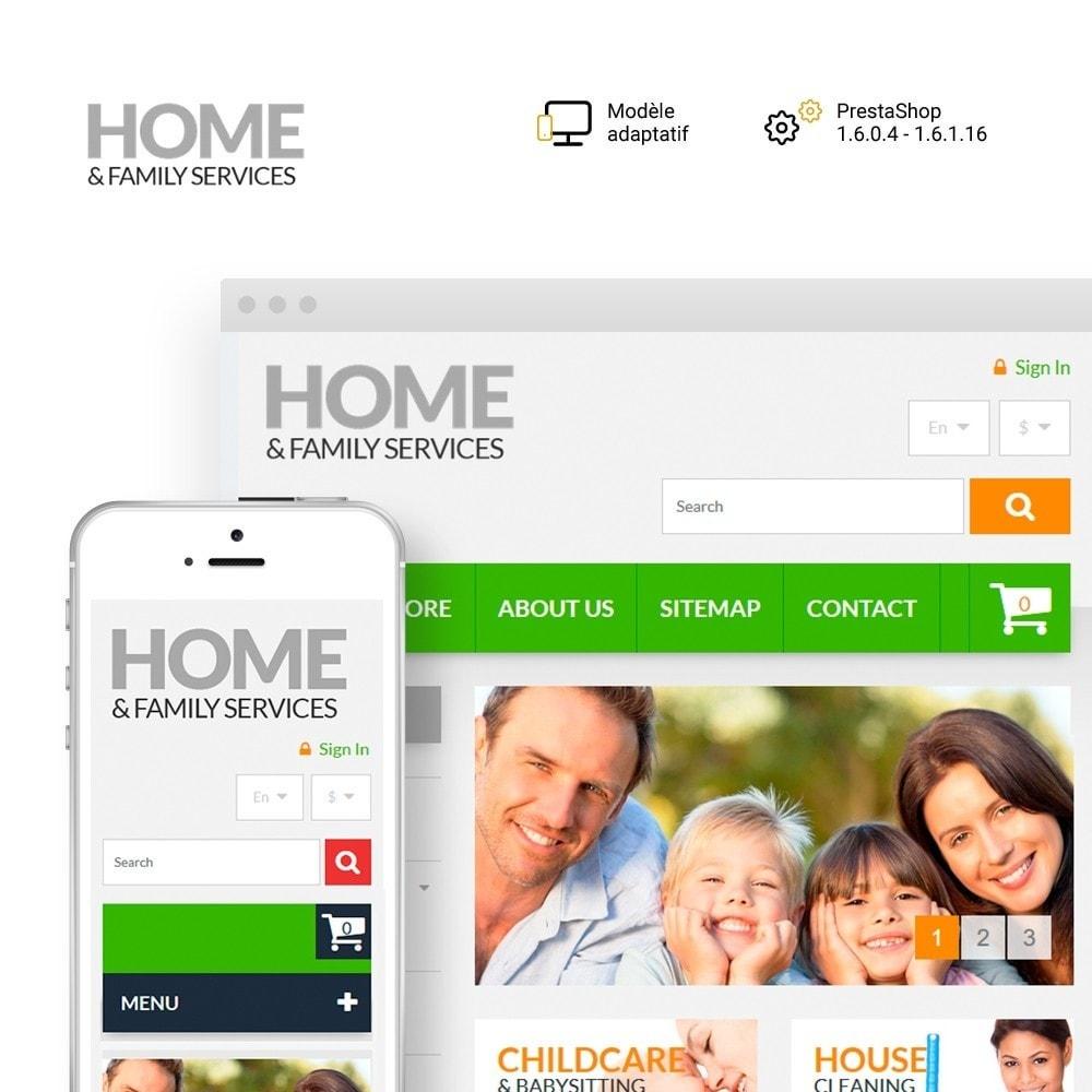 theme - Maison & Jardin - Home & Family Services - 1