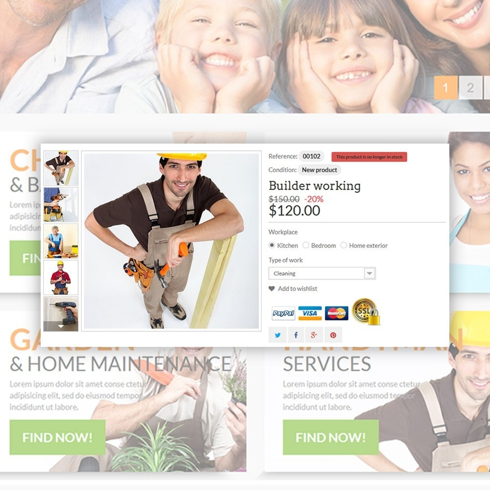 theme - Maison & Jardin - Home & Family Services - 4