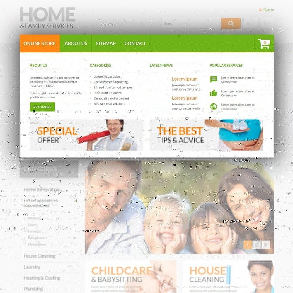theme - Casa & Giardino - Home & Family Services - 5