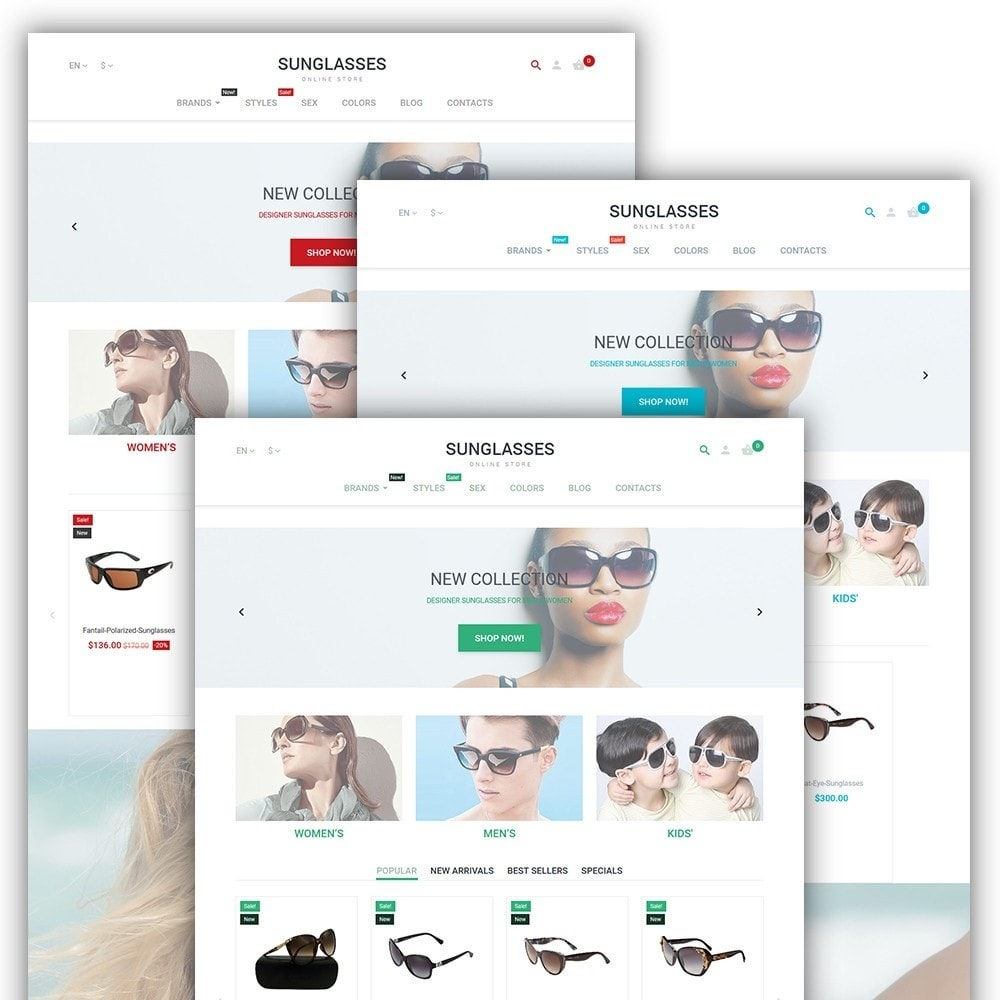 theme - Mode & Chaussures - Sunglasses - 2