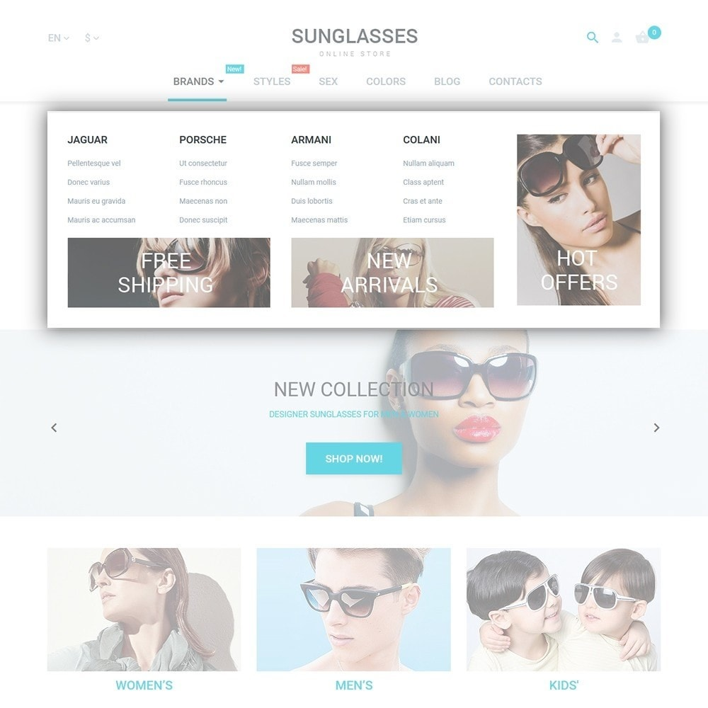 theme - Moda y Calzado - Sunglasses - 5