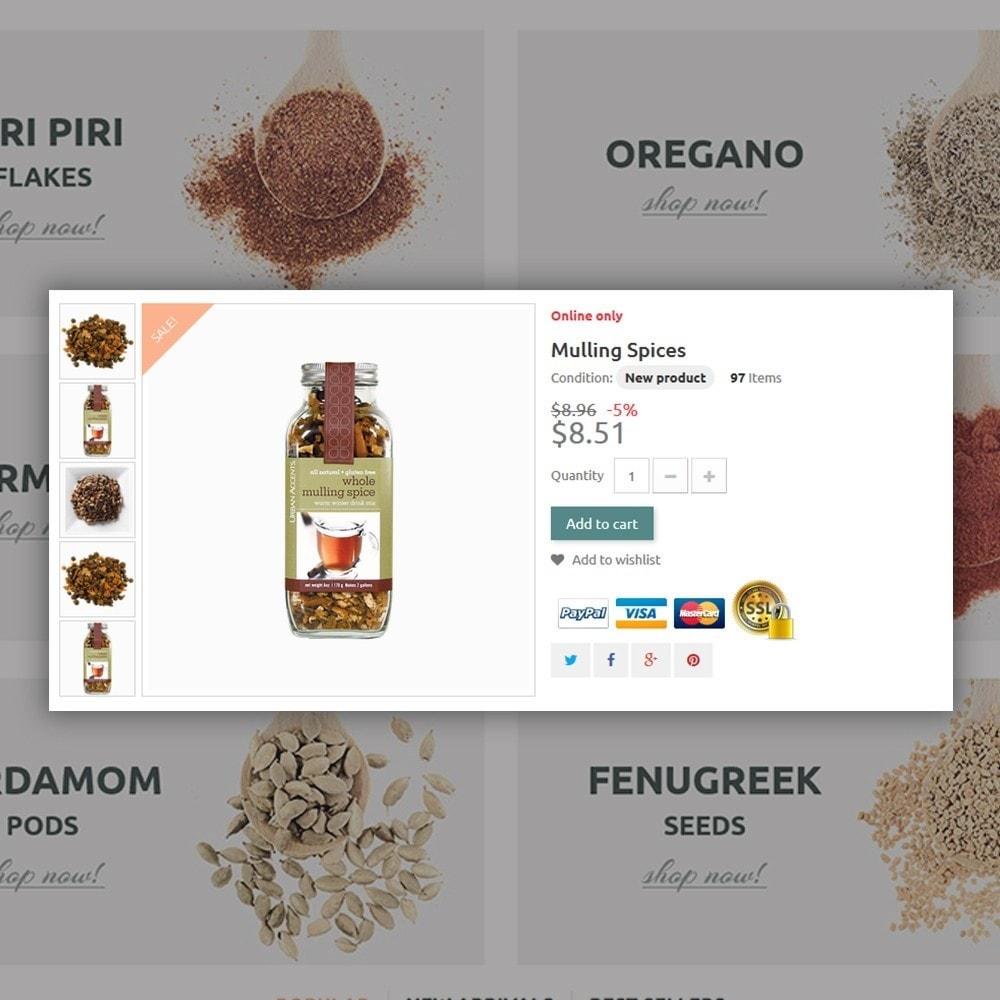theme - Gastronomía y Restauración - Spice Shop - 4