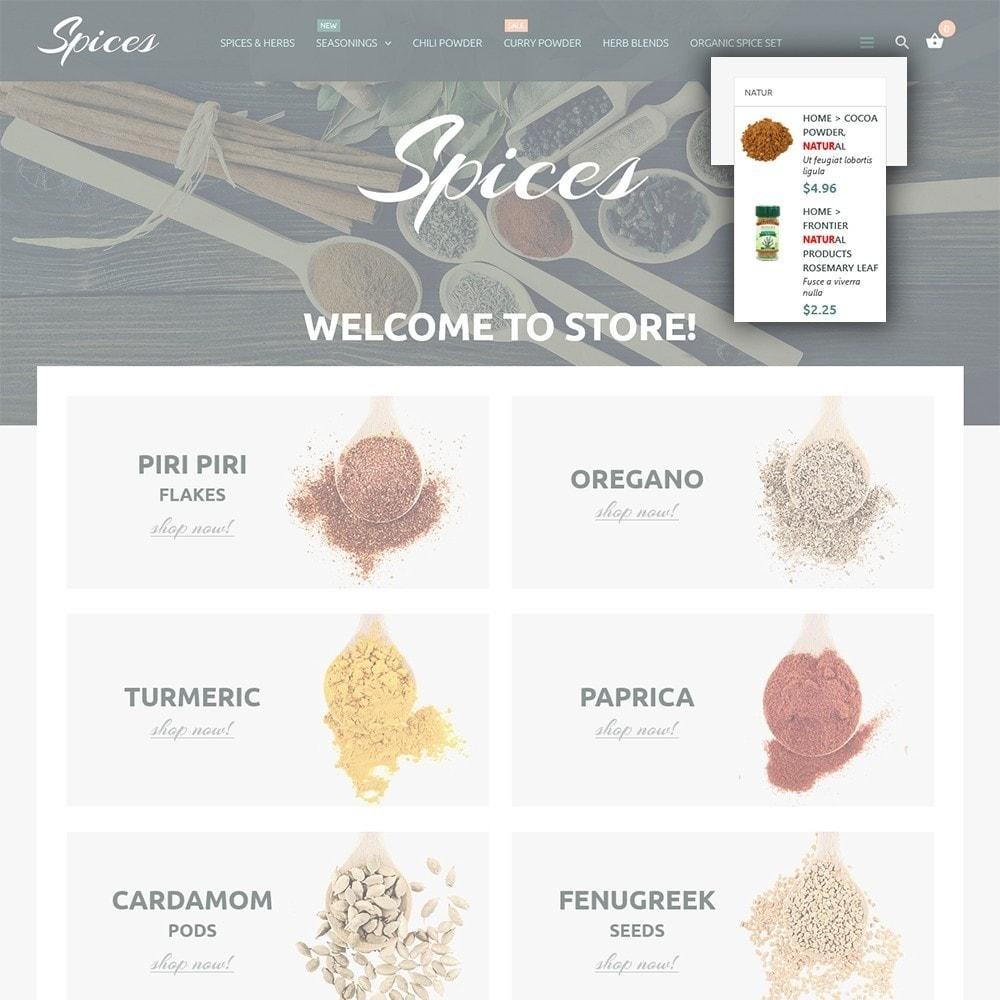 theme - Cibo & Ristorazione - Spice Shop - 6