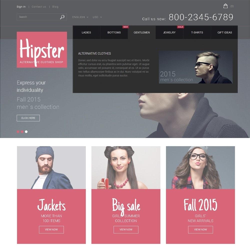 theme - Moda & Calzature - Hipster - Apparel Template - 5