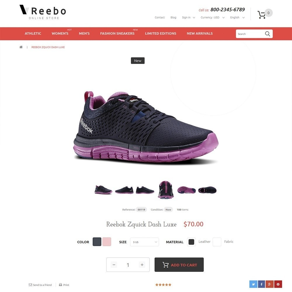 theme - Mode & Schoenen - Reebo - Shoe Store - 3