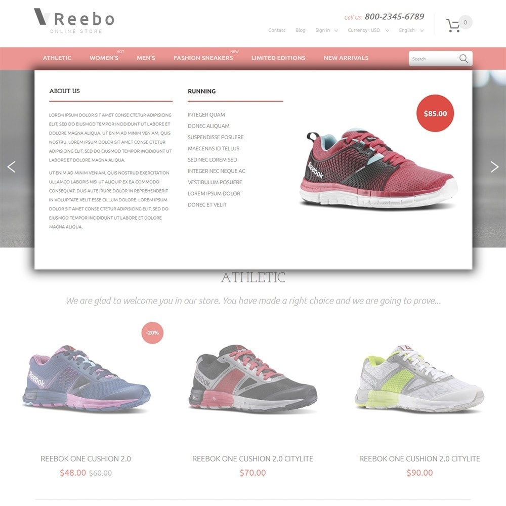 theme - Mode & Schoenen - Reebo - Shoe Store - 5