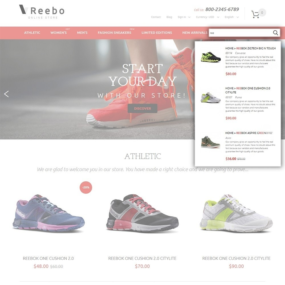 theme - Mode & Schoenen - Reebo - Shoe Store - 6
