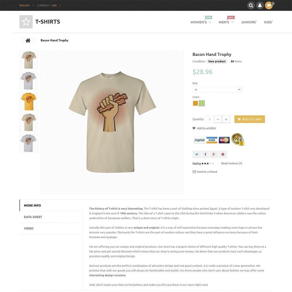 theme - Fashion & Shoes - T-Shirts - 3