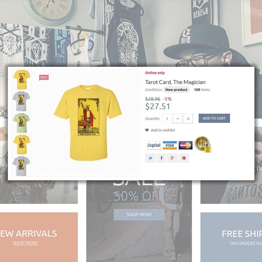 theme - Moda & Calçados - T-Shirts - 5