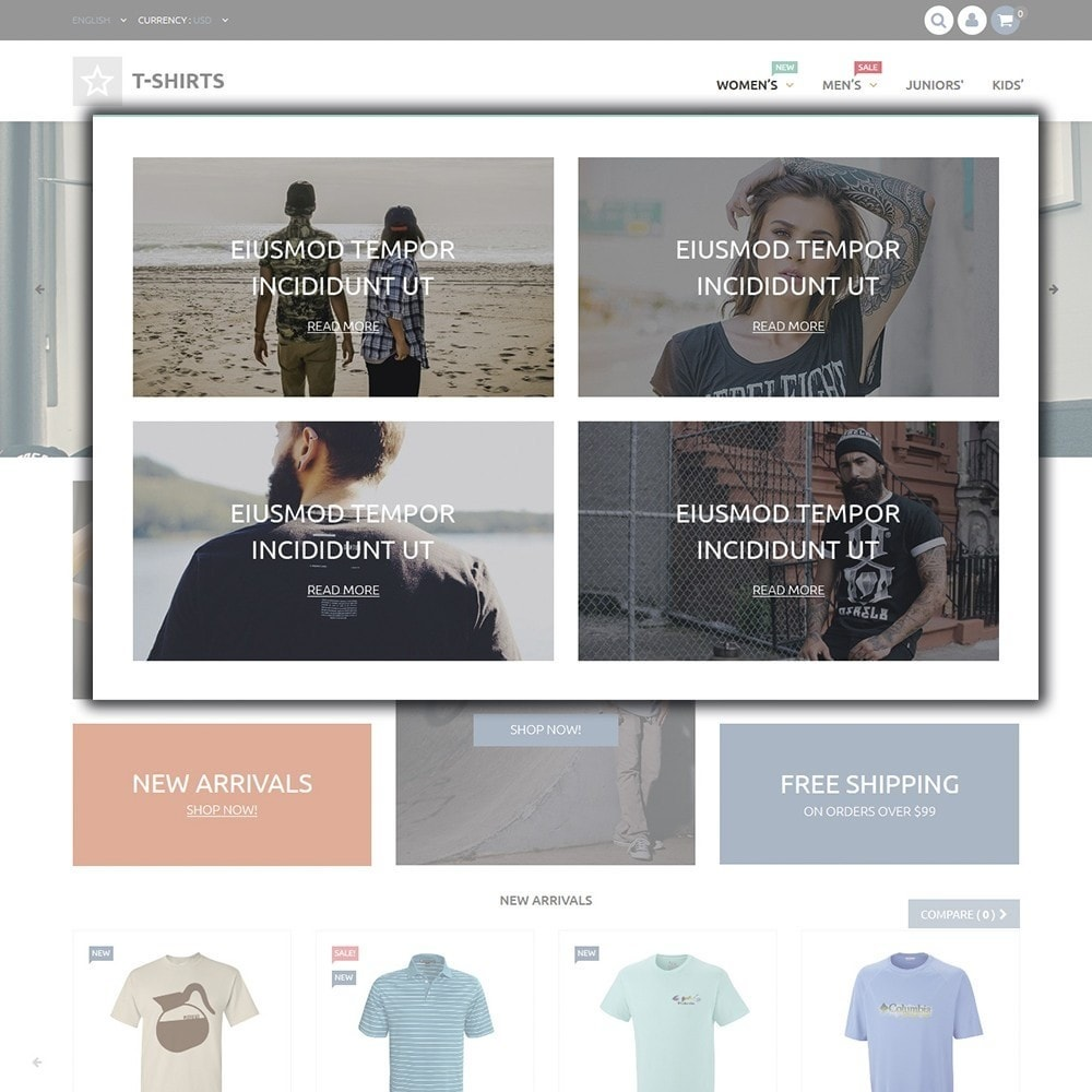 theme - Mode & Chaussures - T-Shirts - 4