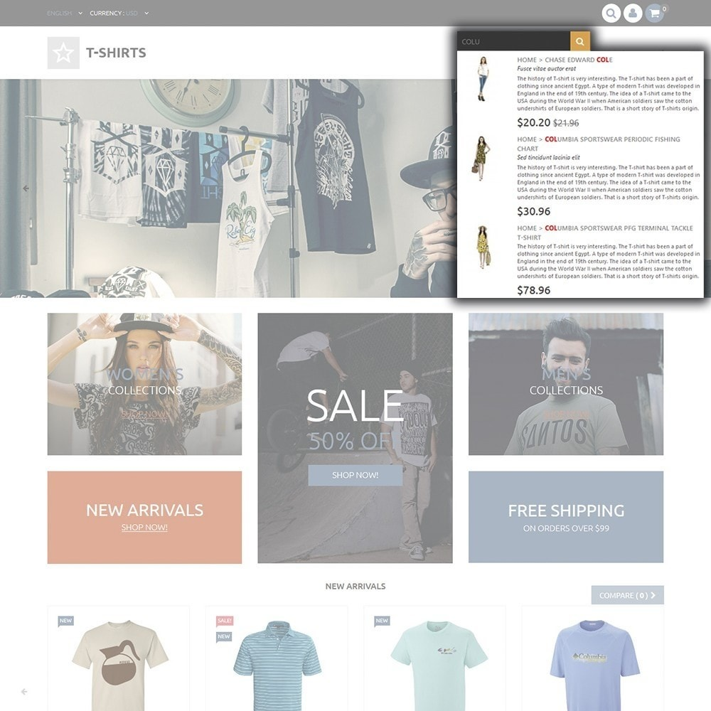 theme - Mode & Chaussures - T-Shirts - 6